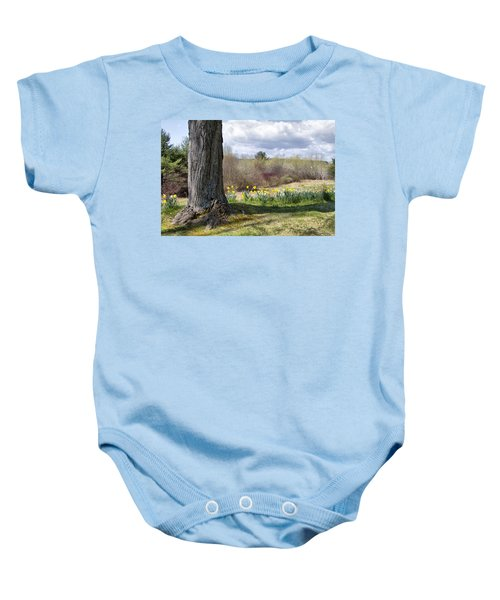 Spring Daffodils  Baby Onesie