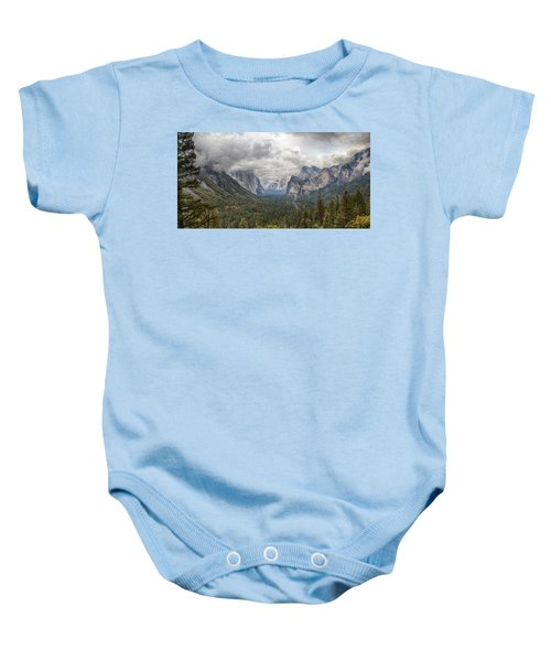 Spring Storm Yosemite Baby Onesie