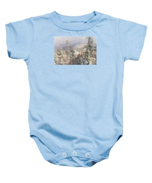 Spruce Peak Summit At Sunday River Baby Onesie