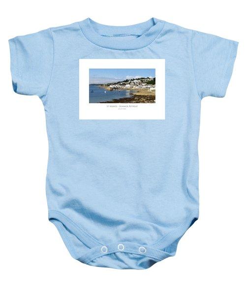 St Mawes - Summer Retreat Baby Onesie