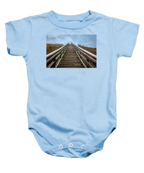 Stairway To The Sky Baby Onesie