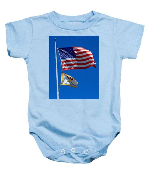 Star Spangled Banner Baby Onesie