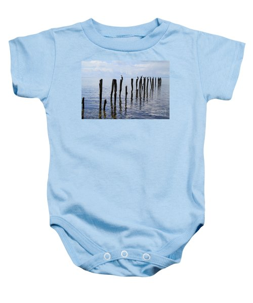 Sticks Out To Sea Baby Onesie