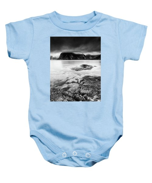Stormy Lofoten Baby Onesie
