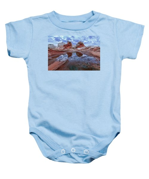 Stormy Reflection Baby Onesie