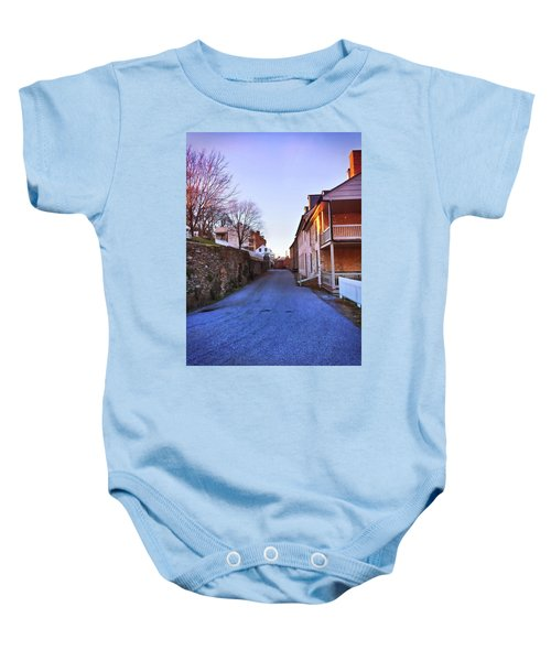 Streets Of Harpers Ferry Baby Onesie