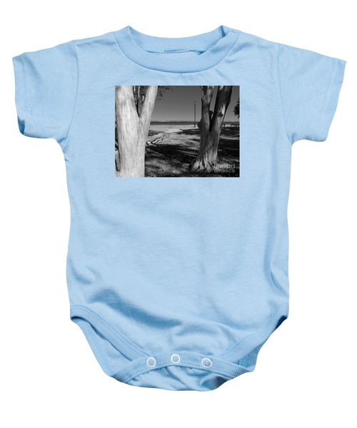 Study In Black And White Baby Onesie