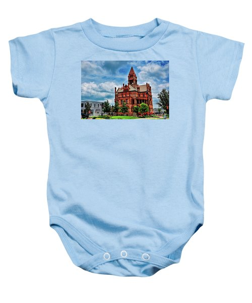 Sulphur Springs Courthouse Baby Onesie