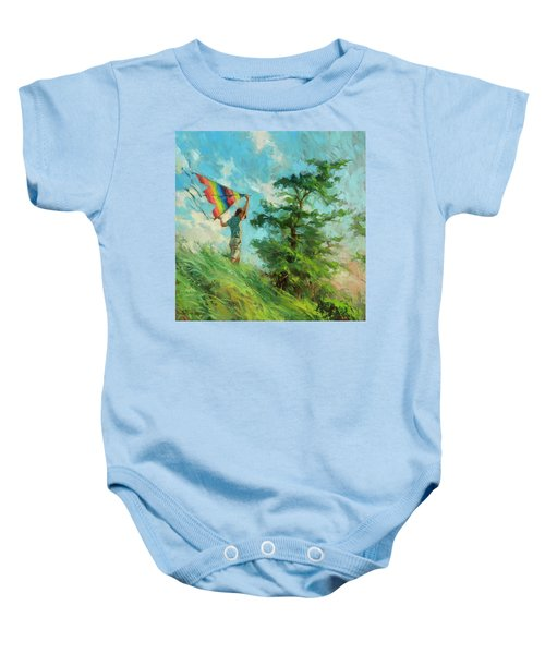 Summer Breeze Baby Onesie