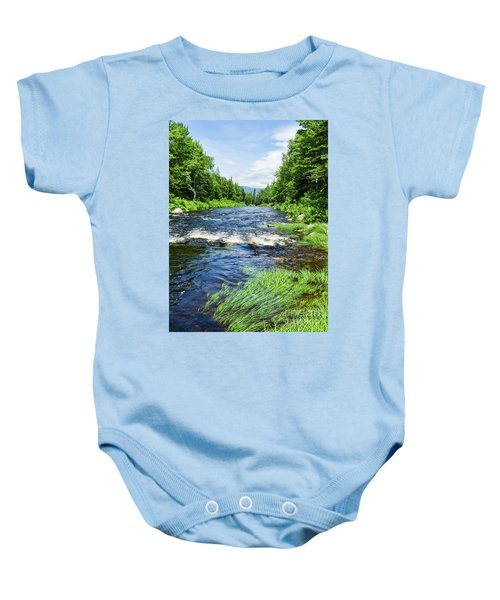 Summer Scene Rangeley Maine  -70742 Baby Onesie
