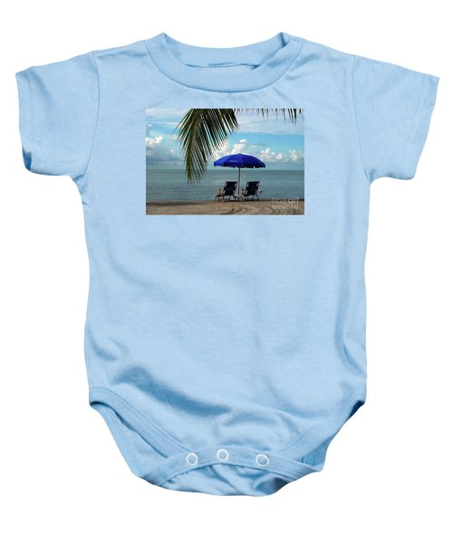 Sunday Morning At The Beach In Key West Baby Onesie