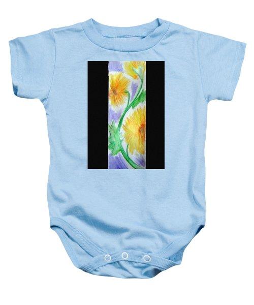 Sunflowers 27 Baby Onesie
