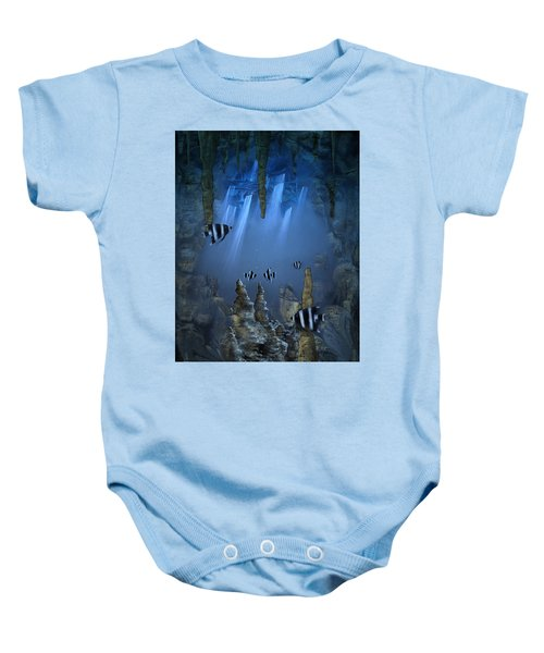 Sunlight From Above Baby Onesie
