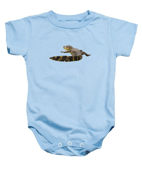 Sunning On The Shore Baby Onesie by Zina Stromberg