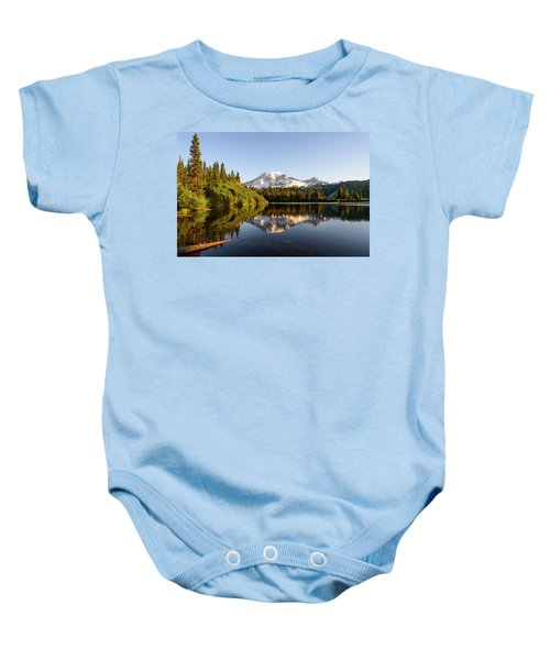 The Bench Lake Baby Onesie