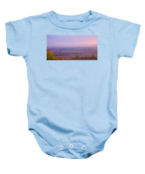 Sunrise Over Mid Valley 2 Baby Onesie