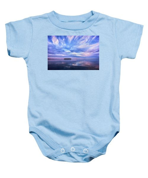 Sunset Awe  Signed Baby Onesie