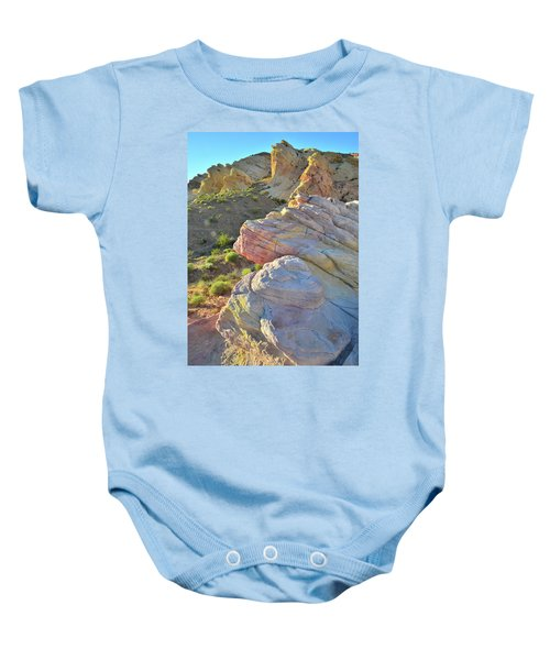 Sunset Pastels In Valley Of Fire Baby Onesie