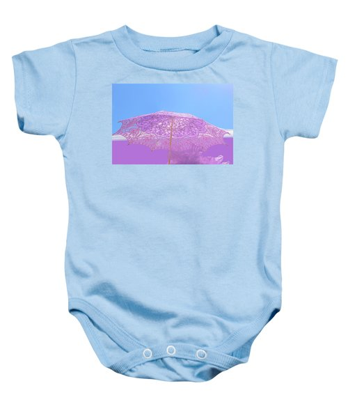 Sunshade In Pastel Color Baby Onesie