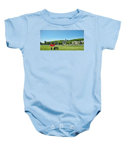 Superintendent's Review Wide Angle Baby Onesie