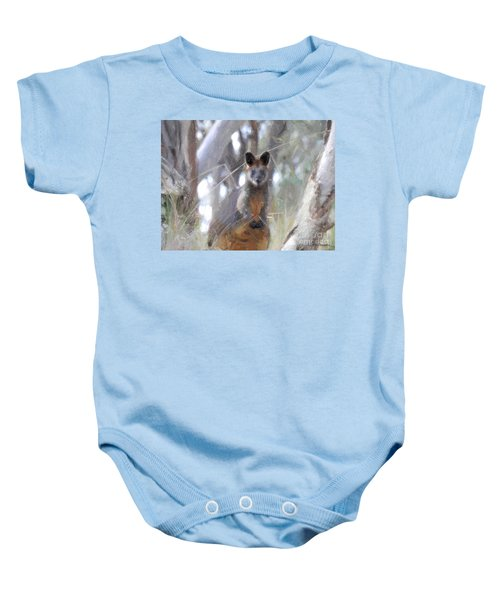 Swamp Wallaby Baby Onesie