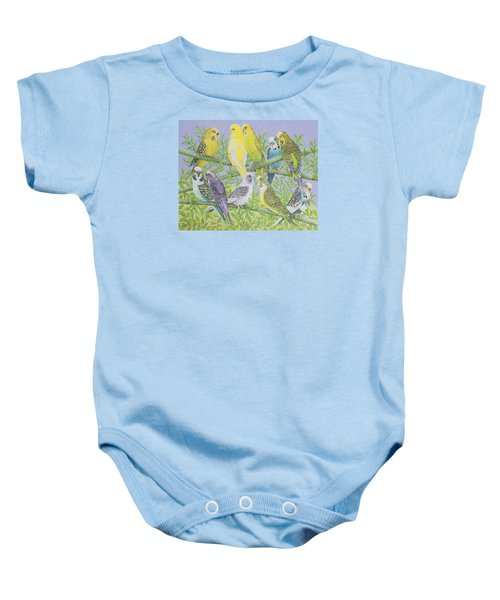 Sweet Talking Baby Onesie by Pat Scott