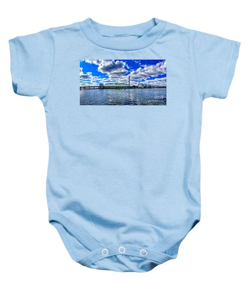 Swing Bridge Heaven Baby Onesie
