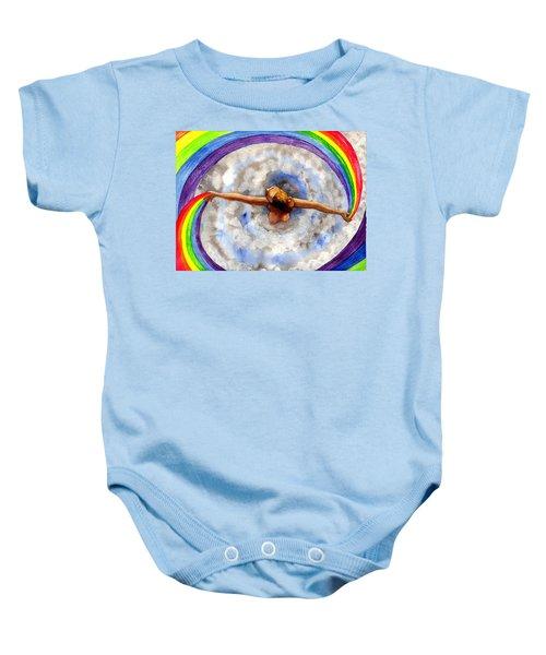 Swirl Baby Onesie