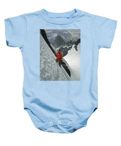 T-202707 Eric Bjornstad On Howser Peak Baby Onesie