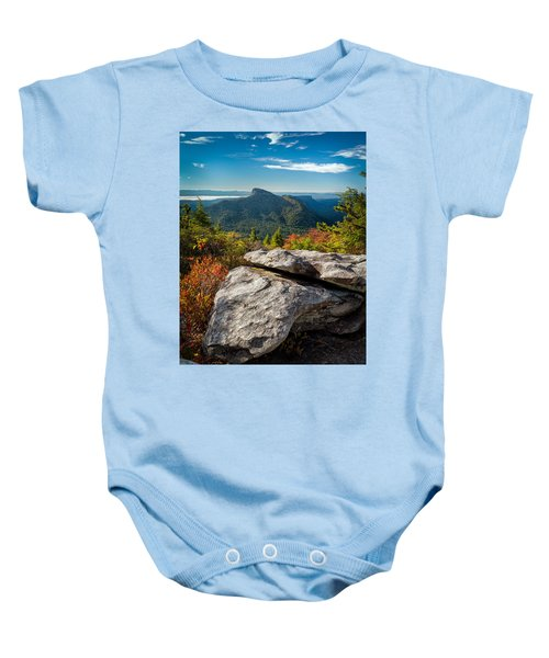 Table Rock Fall Morning Baby Onesie