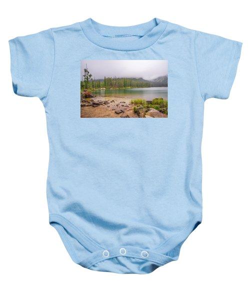 Taggert Lake Grand Teton Baby Onesie