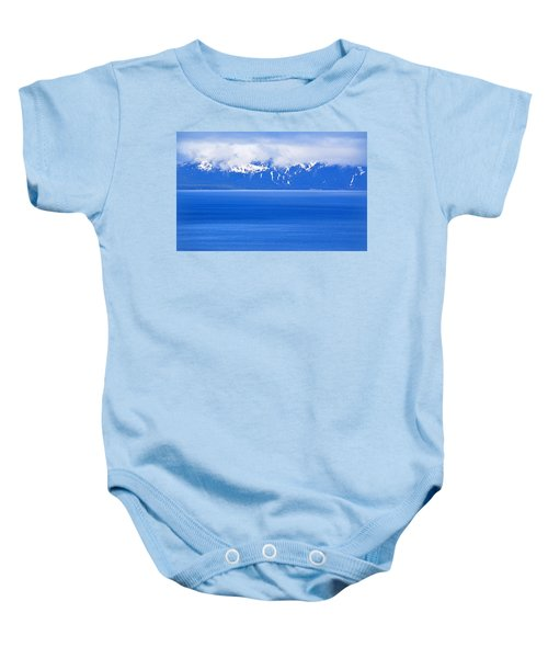 Tahoe Blue Baby Onesie