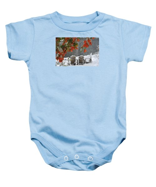 Take A Seat Baby Onesie