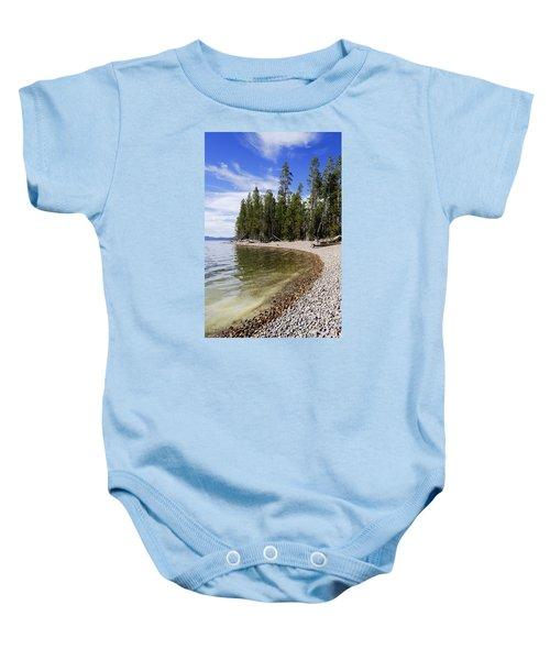 Teton Shore Baby Onesie by Chad Dutson