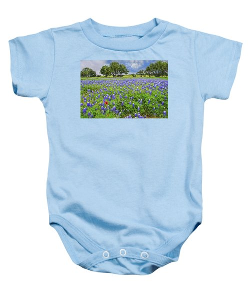 Texas Spring  Baby Onesie