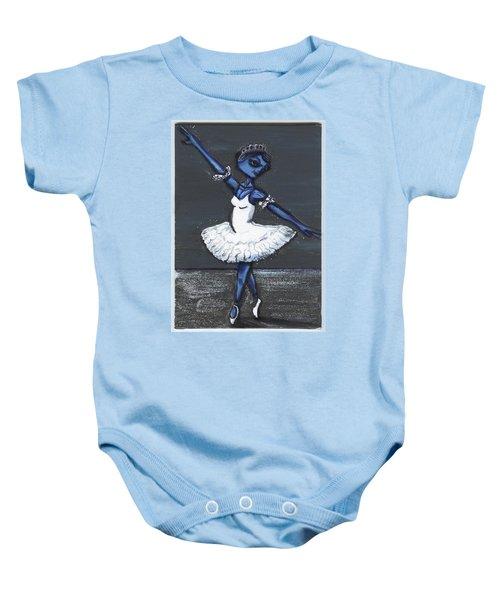 The Blue Swan Baby Onesie