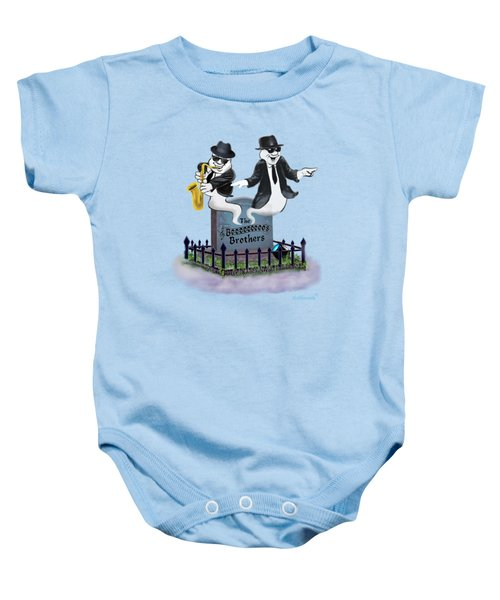 The Boos Brothers Baby Onesie