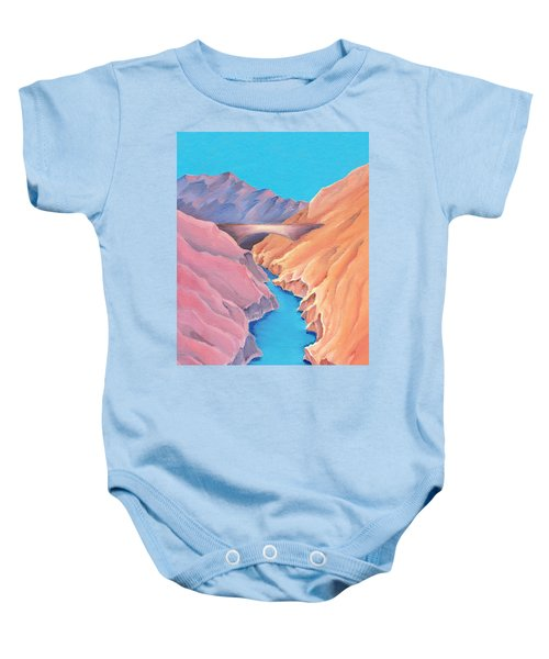 The Bridge Baby Onesie