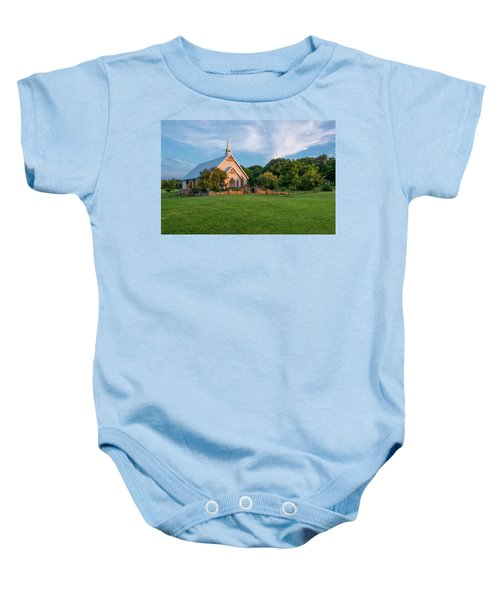 The Brooks At Weatherford Wedding Chapel Baby Onesie