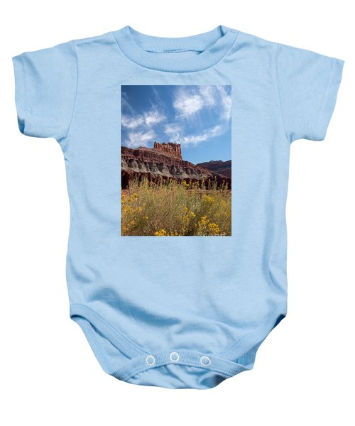 The Castle Capital Reef Baby Onesie