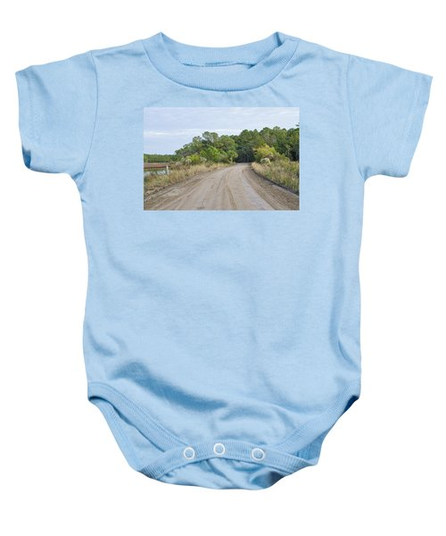 The Causway On Chisolm Island Baby Onesie