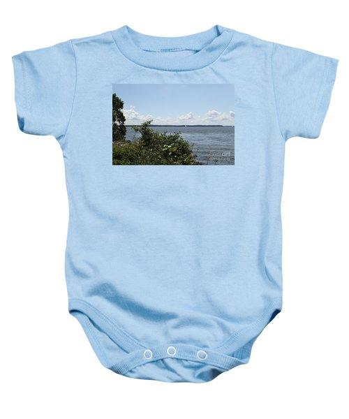 The Chesapeake From Turkey Point Baby Onesie