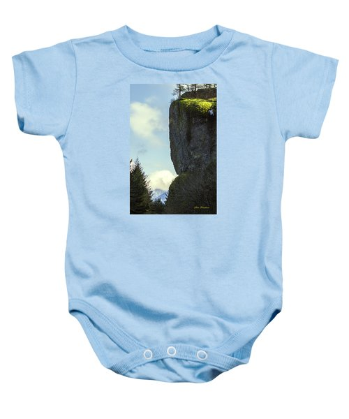 The Cliff Signed Baby Onesie