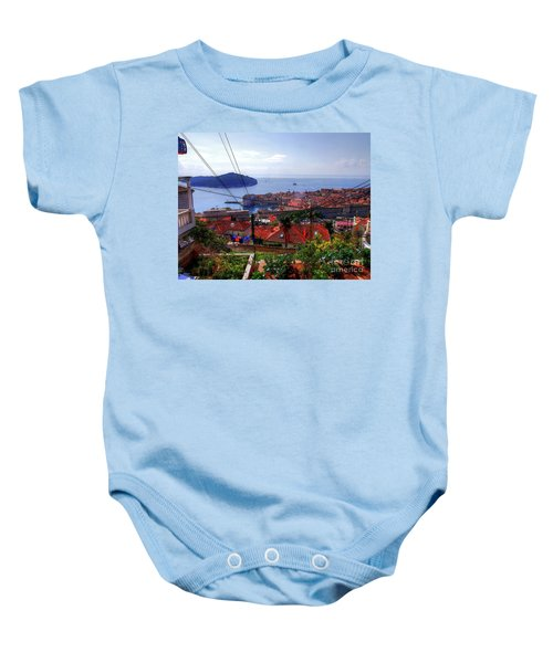 The Colourful City Of Dubrovnik Baby Onesie