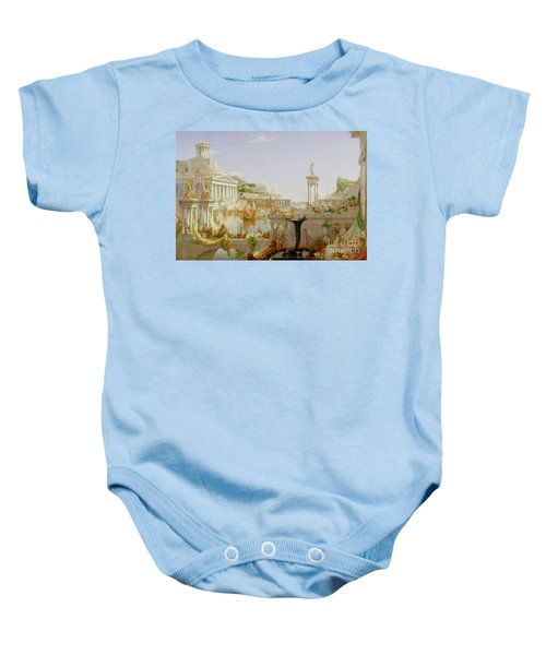 The Course Of Empire - The Consummation Of The Empire Baby Onesie