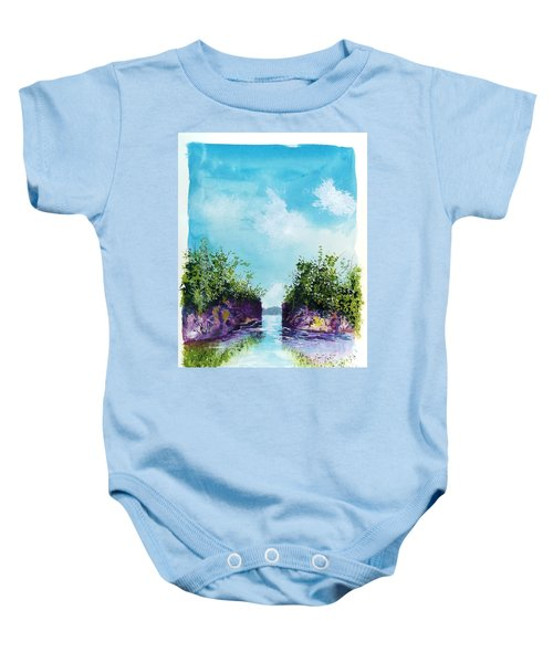 The Cove Baby Onesie