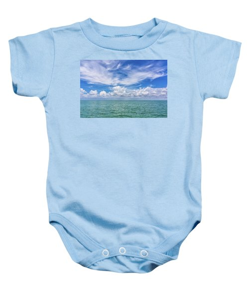 The Dance Of Clouds On The Sea Baby Onesie