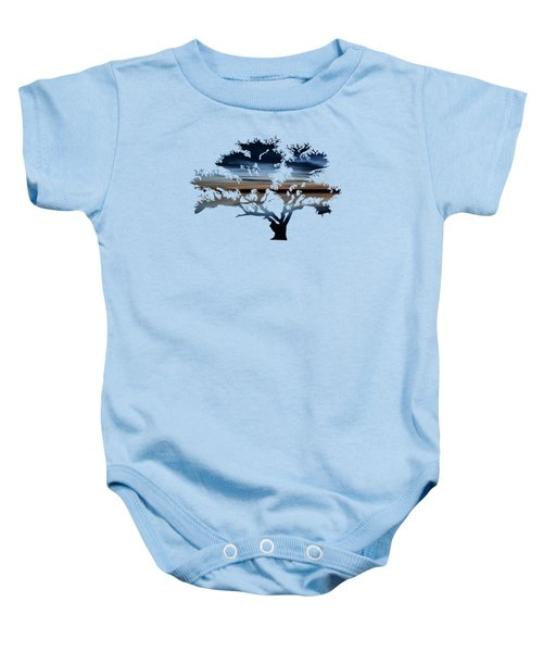 The Dawning Tree Baby Onesie