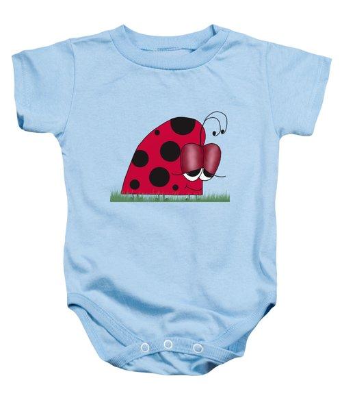 The Euphoric Ladybug Baby Onesie