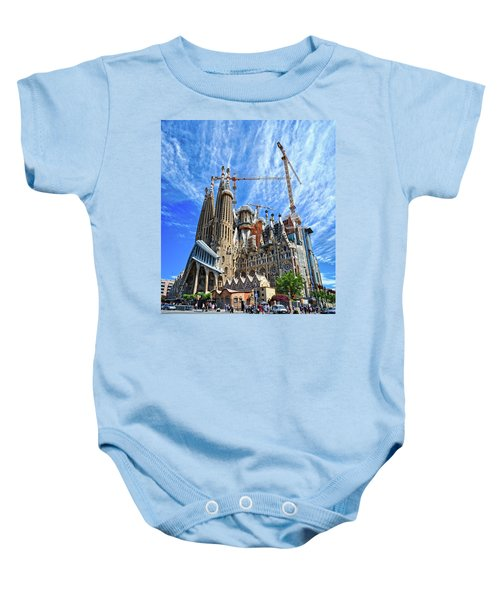 The Expiatory Temple Of The Holy Family Baby Onesie